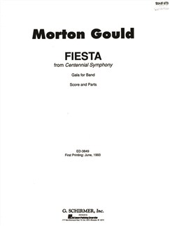 Morton Gould: Fiesta - Concert Band Score/Parts Books | Big Band & Concert Band