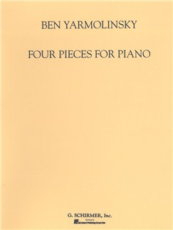 Ben Yarmolinsky: Four Pieces For Piano Books | Piano