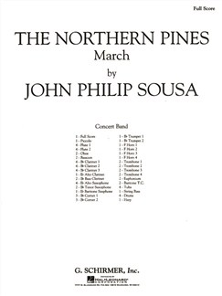 John Philip Sousa: The Northern Pines (Score) Books | Big Band & Concert Band