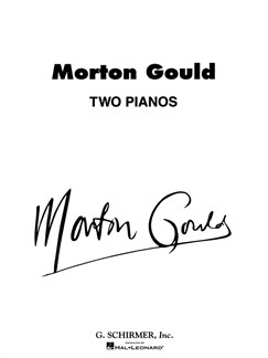 Morton Gould: Two Pianos Books | Piano Duet