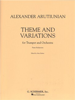 Alexander Arutiunian: Theme And Variations Books | Trumpet, Piano Accompaniment