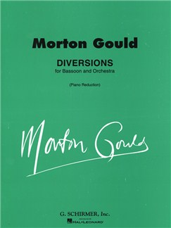 Morton Gould: Diversions Books | Bassoon, Piano Accompaniment