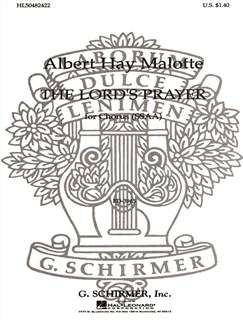 Albert Hay Malotte: The Lord's Prayer (SSAA) Books | Choral, SSAA