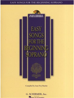Easy Songs For The Beginning Soprano Books and CDs | Soprano, Piano Accompaniment