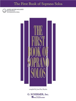 The First Book Of Soprano Solos (Book/Online Audio) Books and Digital Audio | Soprano, Piano Accompaniment