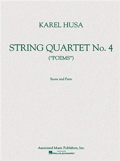 Karel Husa - String Quartet No. 4 (Poems) Books | String Quartet
