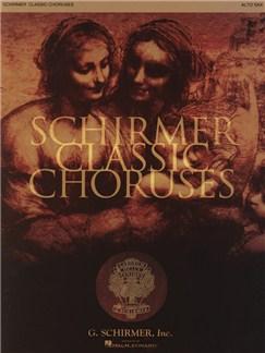 Schirmer Classic Choruses: Alto Sax Books | Alto Saxophone