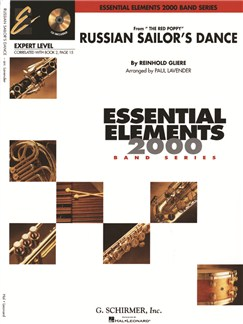 Essential Elements 2000 Band Series: Reinhold Gliere: Russian Sailor's Dance Books | Big Band & Concert Band