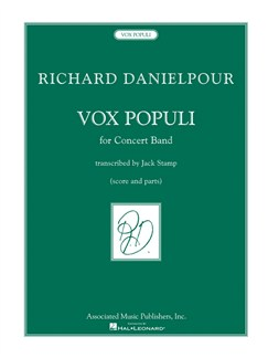 Richard Danielpour: Vox Populi - Concert Band Score Only Books | Big Band & Concert Band