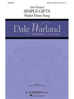 Arr. Dale Warland: Simple Gifts Books | Chamber Group, Choral, SATB