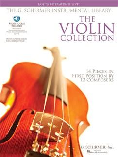 The Violin Collection: Easy To Intermediate Level (Book/Online Audio) Books and Digital Audio | Violin, Piano Accompaniment