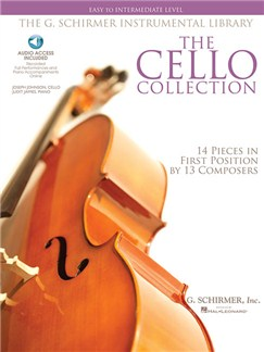 The Cello Collection - Easy/Intermediate Audio Digitale et Livre | Violoncelle, Accompagnement Piano