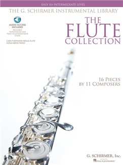 The Flute Collection: Easy To Intermediate Level (Book/Online Audio) Books | Flute