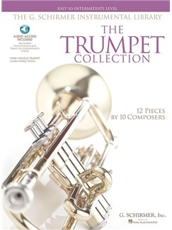 The Trumpet Collection: Easy To Intermediate Level (Book/Online Audio) Books and Digital Audio | Trumpet, Piano Accompaniment