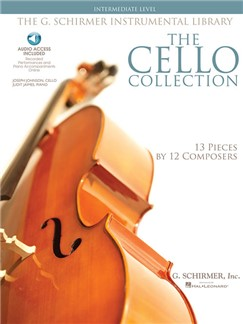 The Cello Collection - Intermediate (Book/Online Audio) Books and Digital Audio | Cello, Piano Accompaniment