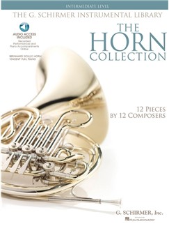 The Horn Collection - Intermediate (Book/Online Audio) Books and Digital Audio | French Horn, Piano Accompaniment