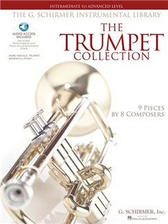 The Trumpet Collection: Intermediate To Advanced Level (Book/Online Audio) Books and Digital Audio | Trumpet, Piano Accompaniment