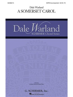 Arr. Dale Warland: A Somerset Carol Books | Choral, SATB