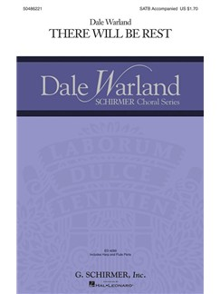 Dale Warland: There Will Be Rest Books | Choral, SATB