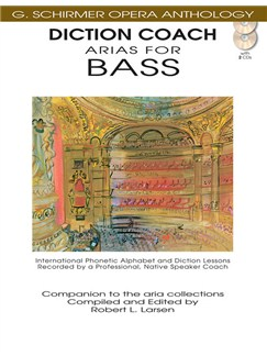 G. Schirmer Opera Anthology: Diction Coach - Arias For Bass (Book/CD) Books and CDs | Bass Voice