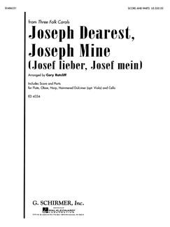 Arr. Cary Ratcliff: Joseph Dearest, Joseph Mine (Josef Lieber, Josef Mein) Books | Ensemble