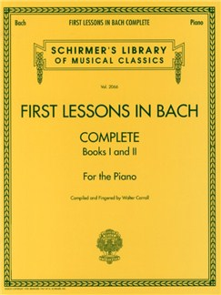 First Lessons In Bach - Complete Books | Piano