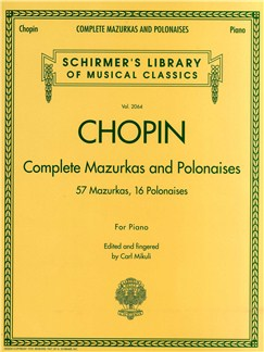 Frederic Chopin: Complete Mazurkas And Polonaises Books | Piano