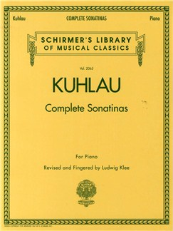 Friedrich Kuhlau: Complete Sonatinas For Piano Books | Piano
