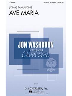 Jonas Tamulionis: Ave Maria Books | Choral, SATB