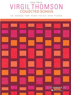 Virgil Thomson: Collected Songs - High Voice Books | High Voice, Piano Accompaniment
