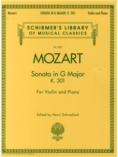 W.A. Mozart: Sonata In G For Violin and Piano K.301 Books | Violin, Piano Accompaniment