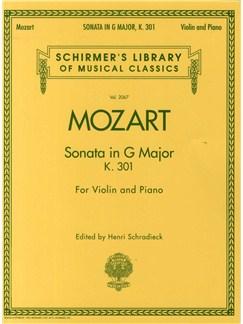 W.A. Mozart: Sonata In G For Violin and Piano K.301 Books   Violin, Piano Accompaniment