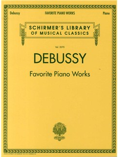 Claude Debussy: Favourite Piano Works Books | Piano