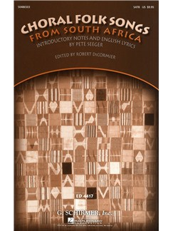 Choral Folk Songs From South Africa Books | SATB, Piano Accompaniment