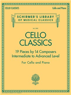 Cello Classics - Intermediate To Advanced Level Livre | Violoncelle, Accompagnement Piano