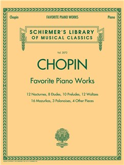 Frederic Chopin: Favourite Piano Works Books | Piano