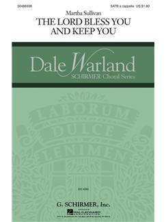 Martha Sullivan: The Lord Bless You And Keep You Books | Choral, SATB