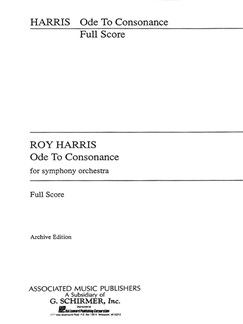 Roy Harris: Ode To Consonance Books | Orchestra