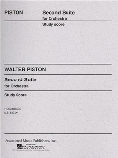 Walter Piston: Suite No. 2 For Orchestra Books | Orchestra
