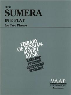 Lepo Sumera: In E Flat Books | Piano