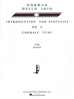 Norman Dello Joio: Introduction And Fantasies On A Chorale Tune Books | Piano