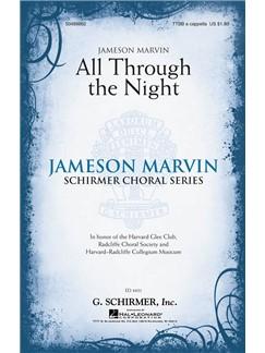 Arr. Jameson Marvin: All Through The Night Books | Choral, TTBB