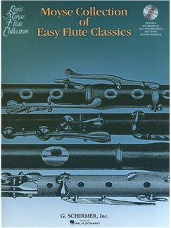 Moyse Collection Of Easy Flute Classics Books and CDs | Flute, Piano Accompaniment