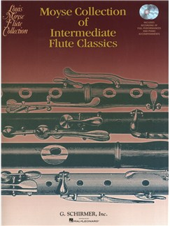 Moyse Collection Of Intermediate Flute Classics (Book/Online Audio) Books and Digital Audio | Flute, Piano Accompaniment