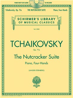 Pyotr Ilyich Tchaikovsky: The Nutcracker Suite - Piano Duet Play-Along (Book/Online Audio) Books and Digital Audio | Piano Duet