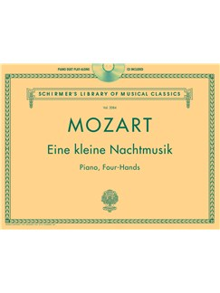 W.A. Mozart: Eine Kleine Nachtmusik - Piano Duet Play-Along Books and CDs | Piano Duet