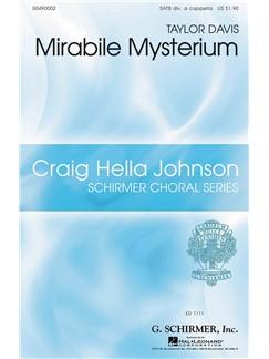 Taylor Davis: Mirabile Mysterium Books | Choral, SATB