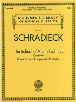 Henry Schradieck: The School of Violin Technics Complete Livre | Violon