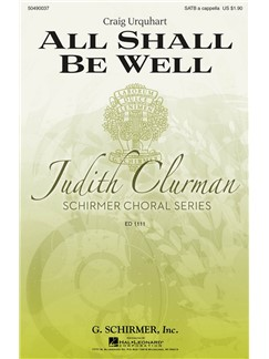 Craig Urquhart: All Shall Be Well Books | Choral, SATB