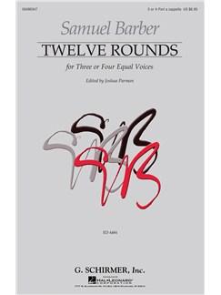 Samuel Barber: Twelve Rounds Books | 3-Part